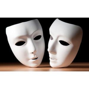 Fototapety Fototapeta Teatralne maski F920